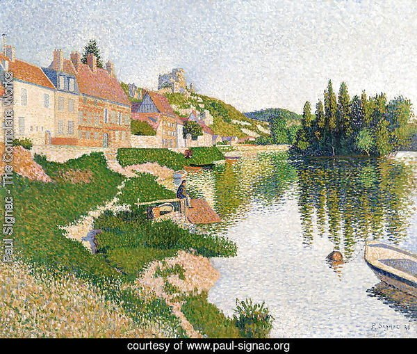 The River Bank, Petit-Andely, 1886