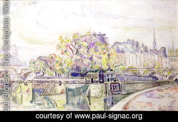 Paul Signac - Paris, 1923