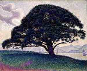 Paul Signac - The Bonaventure Pine, 1893