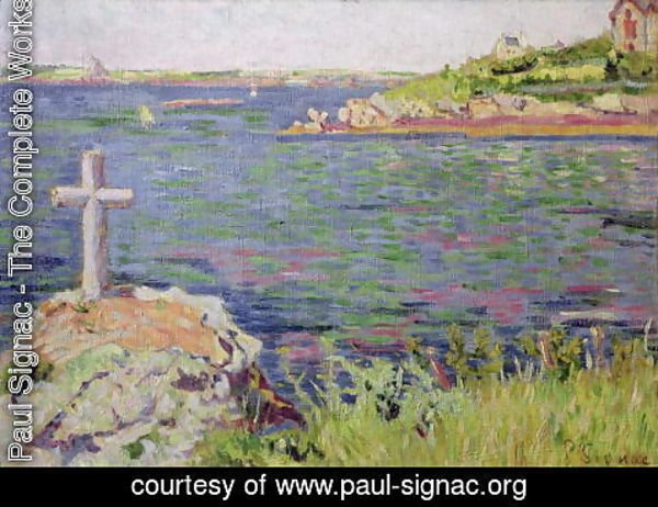 Paul Signac - Saint-Briac, the Sailor's Cross, 1885