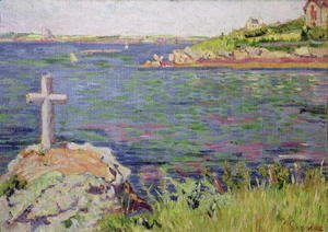 Saint-Briac, the Sailor's Cross, 1885