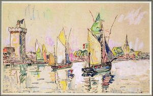 Sailing Boats at Les Sables-d'Olonne