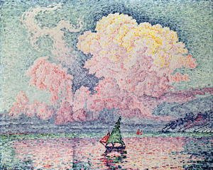 Paul Signac - Antibes, the Pink Cloud, 1916