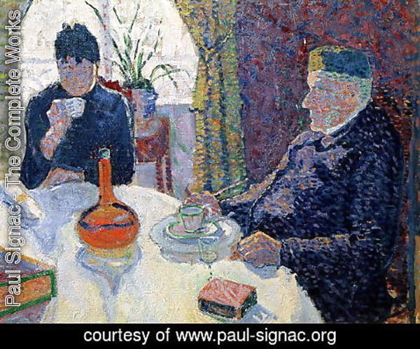 Paul Signac - Study for The Dining Room, c.1886