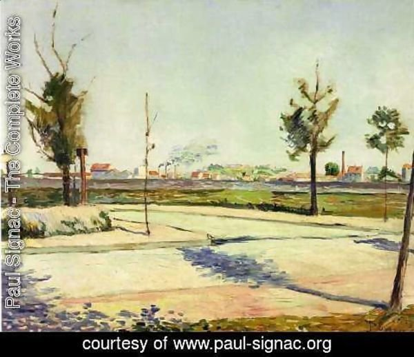 Paul Signac - The Road to Gennevilliers, 1883