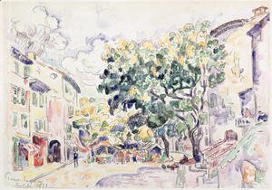 Paul Signac - Antibes, 1918