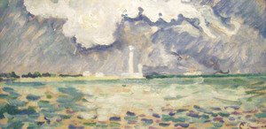 Paul Signac - The Lighthouse at Gatteville
