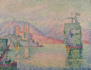 Paul Signac - Antibes, Evening, 1914