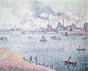 Paul Signac - The Seine, Grenelle, 1899