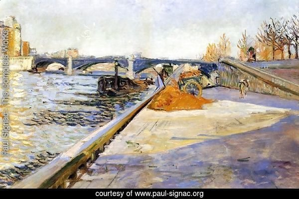 Paris, Quai de la Tournelle, 1886