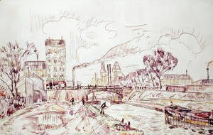 Paul Signac - Paris - Pantin