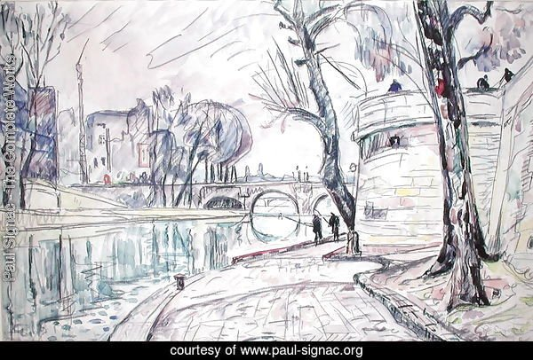 Paris - River Scene