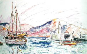 Paul Signac - Port Vendres, 1920