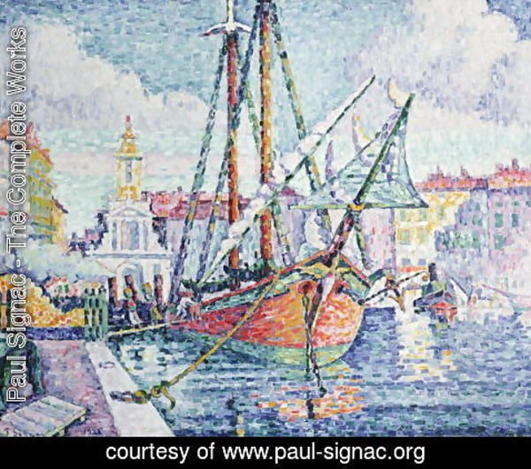 Paul Signac - The Port, 1923