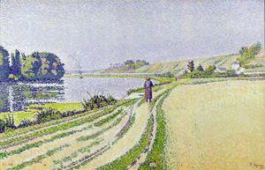 Paul Signac - Herblay, La River