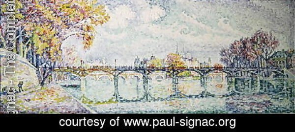 Paul Signac - The Pont des Arts, 1928