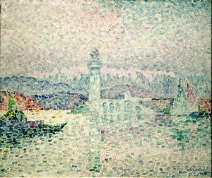 Paul Signac - The Lighthouse at Antibes, 1909