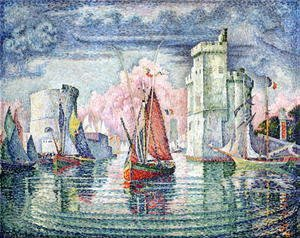 Paul Signac - The Port at La Rochelle, 1921