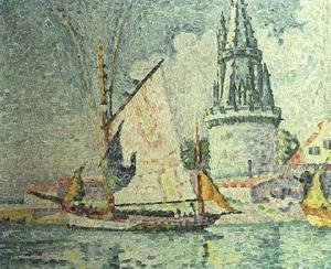 Paul Signac - La Rochelle, the Quartermaster's Tower, 1927