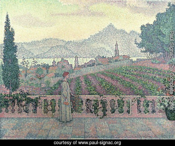 Woman on the Terrace, 1898