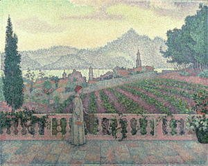 Paul Signac - Woman on the Terrace, 1898