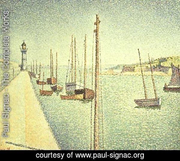 Paul Signac - Portrieux, Brittany, 1888