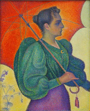 Paul Signac - Woman with a Parasol, 1893