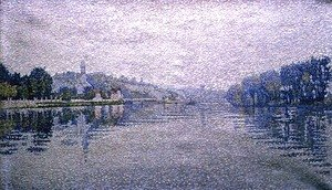 View of the Seine at Herblay, 1889
