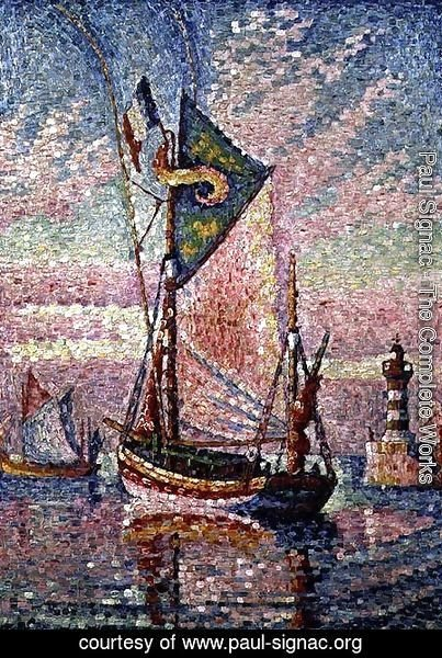 Paul Signac - The Port at Concarneau