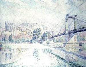 Paul Signac - The Bridge, 1928