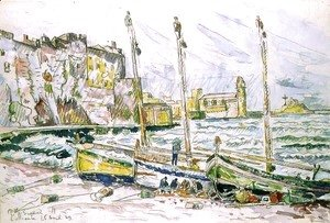 Paul Signac - Collioure, 1929