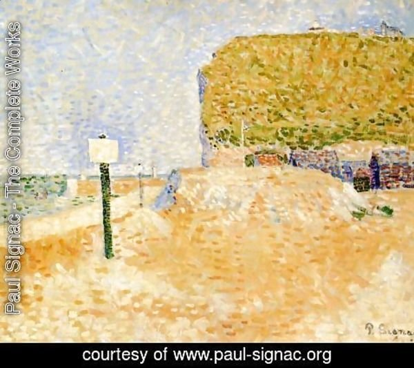 Paul Signac - Fecamp, Sunshine