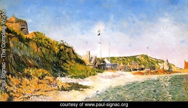 Port-en Bessin, the Beach