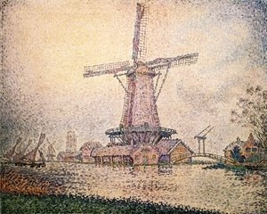 Paul Signac - Dutch Mill at Edam