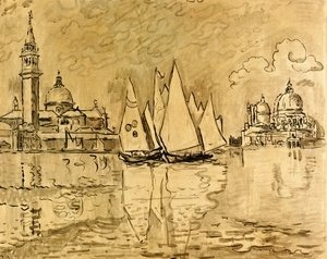 "Paul Signac - Study for ""Venice, Morning"""