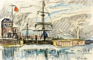 Paul Signac - The Jetty