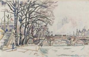 Paul Signac - Paris, la Seine