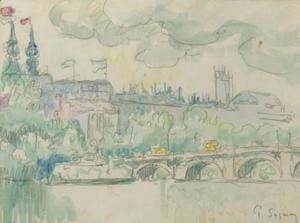 Paul Signac - Paris, le Pont Neuf