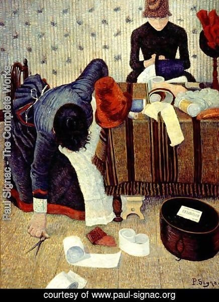 Paul Signac - The Modistes