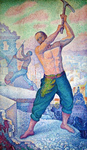 Paul Signac - The Demolisher