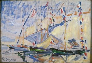 Paul Signac - Saint Tropez 2