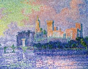 Paul Signac - The Chateau des Papes
