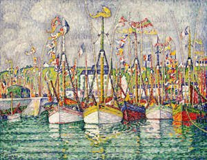 Blessing of the Tuna Fleet at Groix 1923