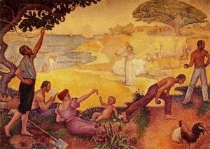 Paul Signac - At the time of harmony