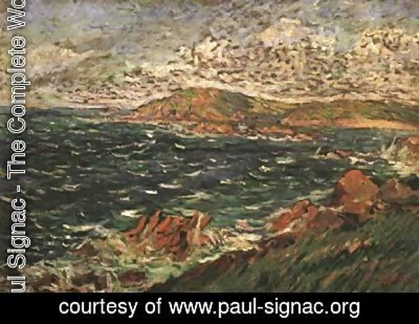 Paul Signac - Brisk Breeze from the North
