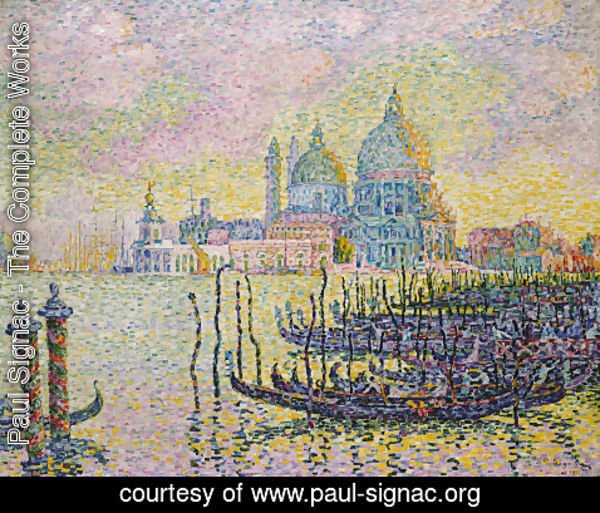 Paul Signac - Entrance to the Grand Canal, Venice