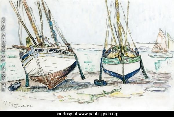 Fishing boats, Lomalo