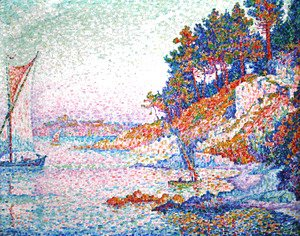 Paul Signac - La calanque (The bay)