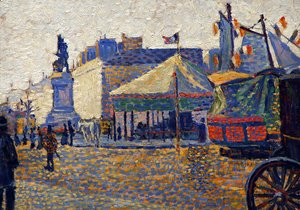 Paul Signac - Place Clichy