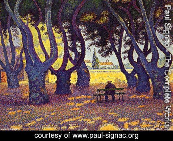 Extraordinaire Paul Signac - The Complete Works - Place des Lices, Saint-Tropez #XJ_87